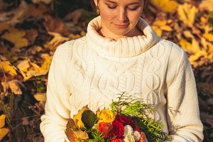 Thanksgiving autumn day