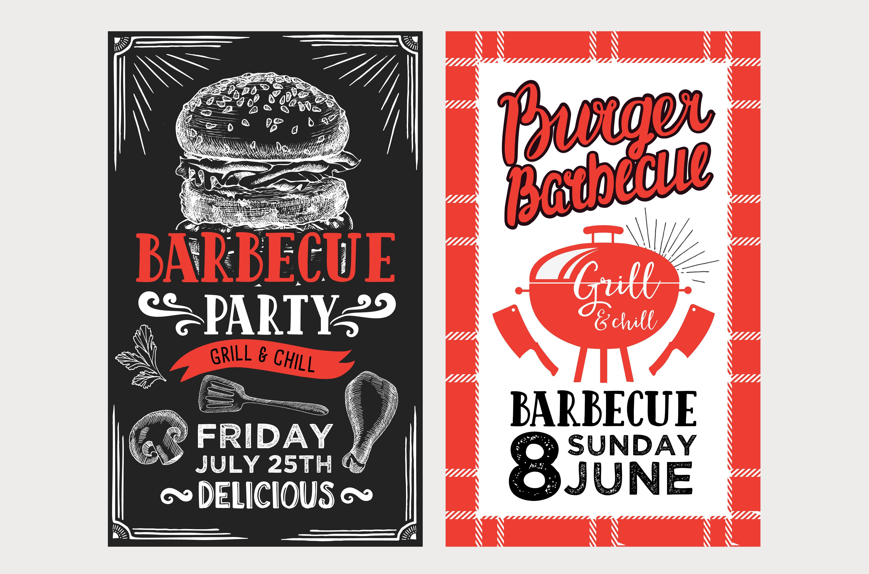 barbecue menu templates bbq party brochure templates creative