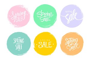 Spring Sale.