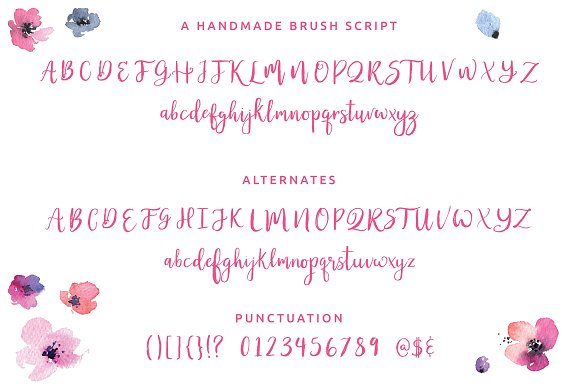 Honeycutt Brush Script in Script Fonts - product preview 2