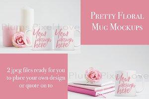 2 Mug Mockup Images