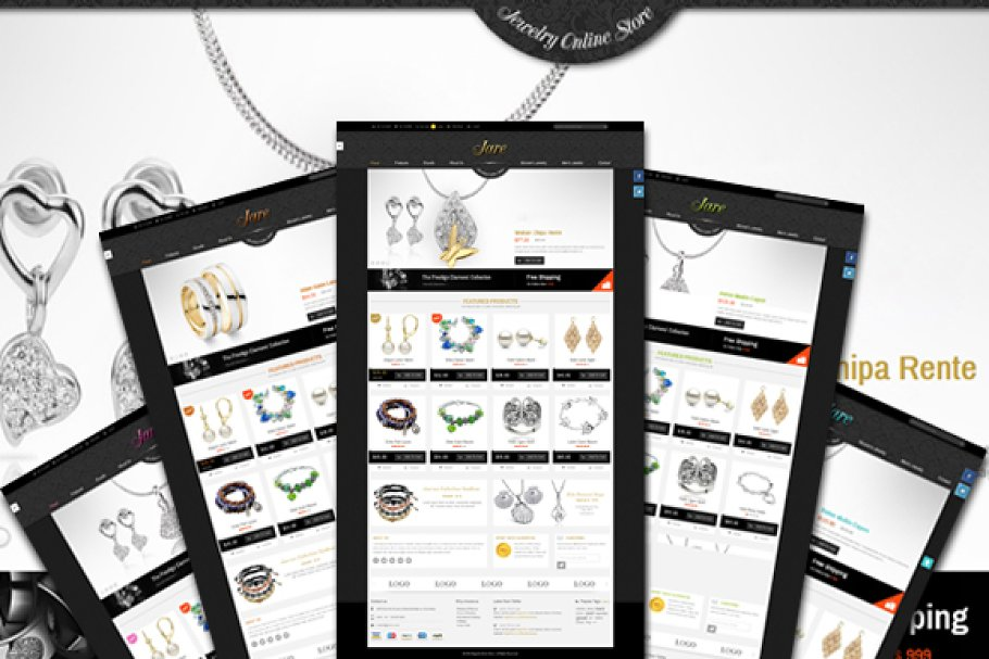 9 Jewelry Website Themes & Templates
