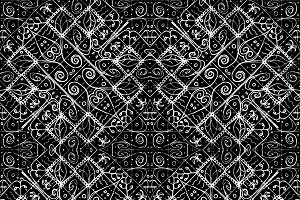 Ethnic Luxury Ornate Pattern