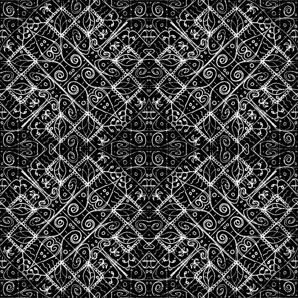 Ethnic Luxury Ornate Pattern