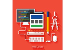 Web design. Program for design