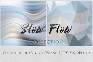 SLOW FLOW 3 collection textures set