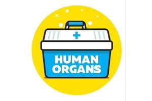Organ transplantation concept