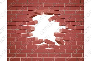 Breaking Brick Wall