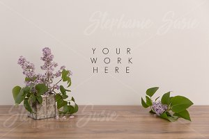 Lilac Vintage Tin Mock Up