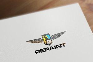Repaint Logo Template