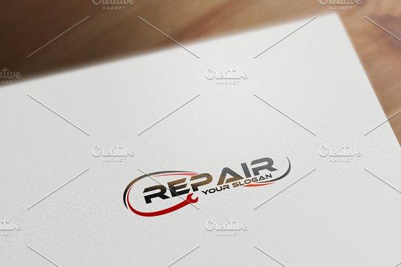 Repair Logo Template