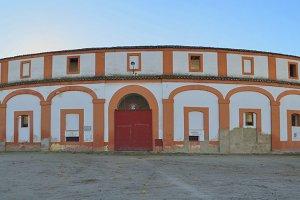 Spanish Bullring facade
