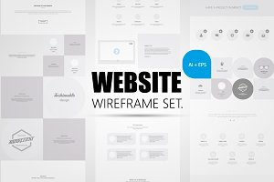 Website Wireframe Kit.