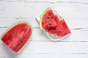 Watermelon yummy fresh summer