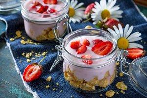 breakfast of cornflakes