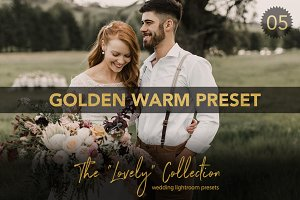 Golden Warm Wedding Lightroom Preset