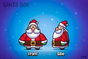 Happy Santa Claus Character