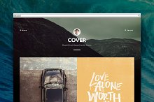Cover tumblr theme