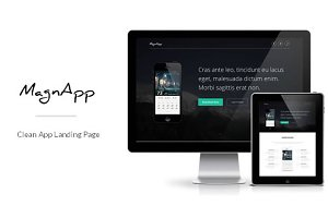 MagnApp | App Landing Page Template