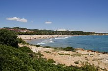 Beach in Tarragona, Catalonia, Spain