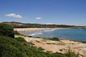Beach in Tarragona, Catalonia, Spain