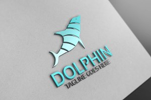 Dolphin Logo Version 2