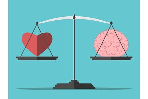 Balance, heart and brain