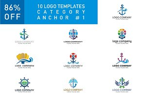 10 Logo Set - Anchor