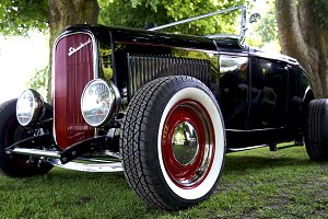 Vintage Classic Car Ford Street Rod