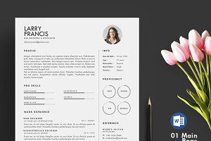 Resume Template 3 page | clean cv