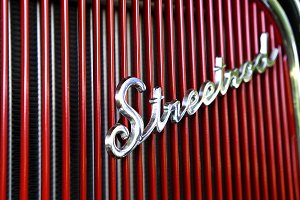 Ford Street Rod Script Typography