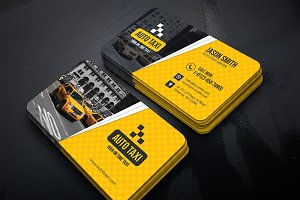 Auto Taxi Business Cards