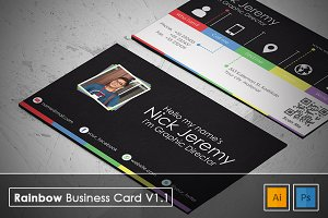 Rainbow Business Card v1.1