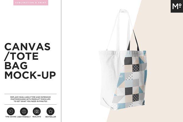 Canvas Tote Bag Mock-up