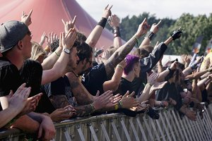 Crowd At Bloodstock Music Festival