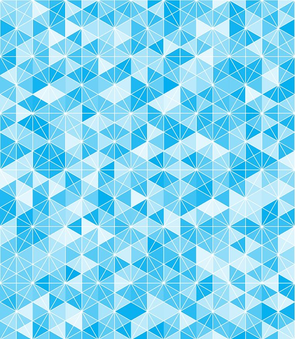 Blue Hexgrid Pattern Graphic Patterns Creative Market