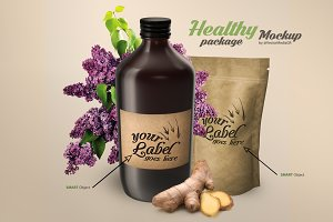 Healthy Package - Mockup