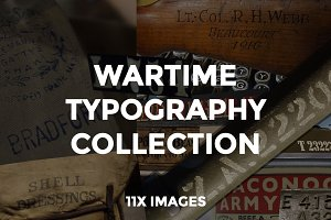 Wartime Typography Collection