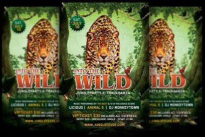 Into The Wild Jungle Party