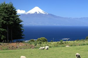 Volcano Osorno in Chile