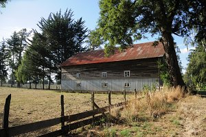 Barn, South of Chile