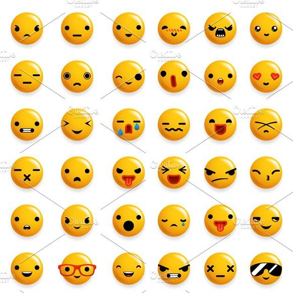 Cute Emoticon Smile