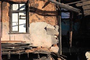 Ruins of a Fire. Valparaiso