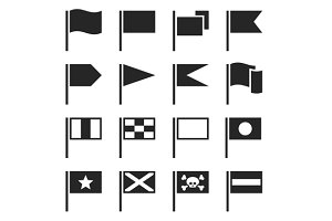 Flag Icons Set