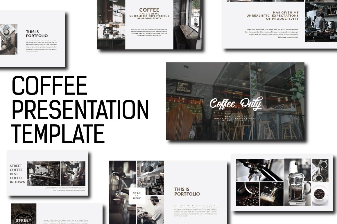 Coffee Powerpoint Presentation ~ Presentation Templates ~ Creative ...