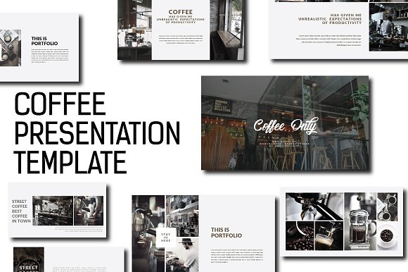 coffee powerpoint presentation presentation templates creative