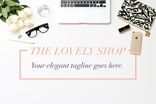 fashion blog mockup