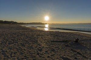 Miño beach.