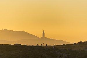 Coast of Hercules Tower.