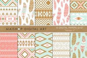 Digital Paper - Navajo II